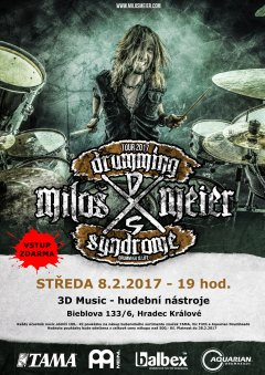 Miloš Meier Drumming Syndrome 2017
