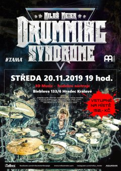 Miloš Meier DRUMMING SYNDROME 2019